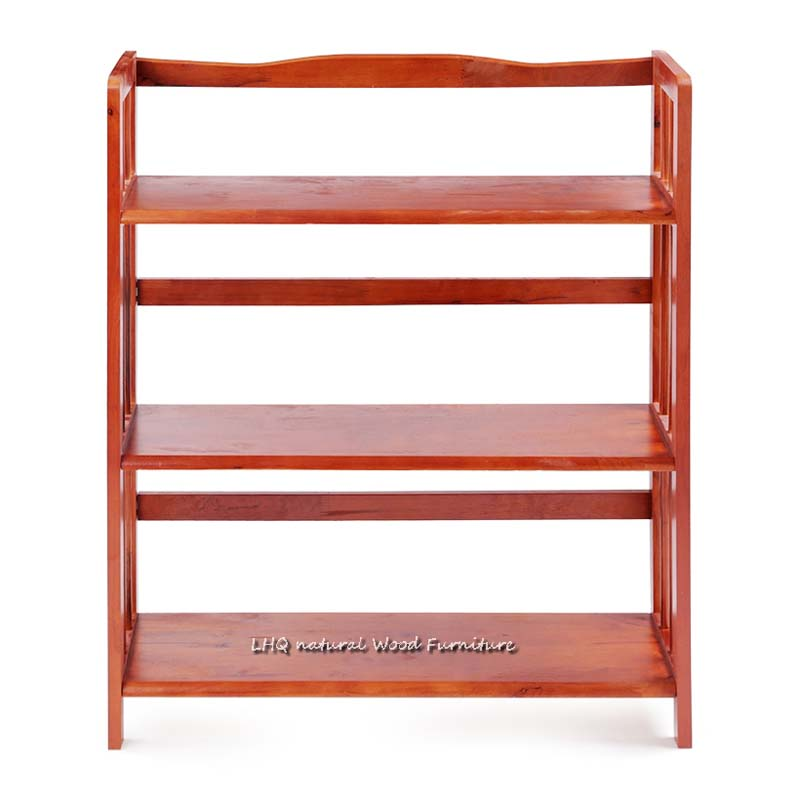 Kệ sách 3 tầng 80 cm gỗ tự nhiên chất lượng, được mua nhiều