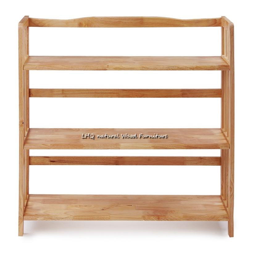 Kệ sách 3 tầng rộng 80 gỗ tự nhiên