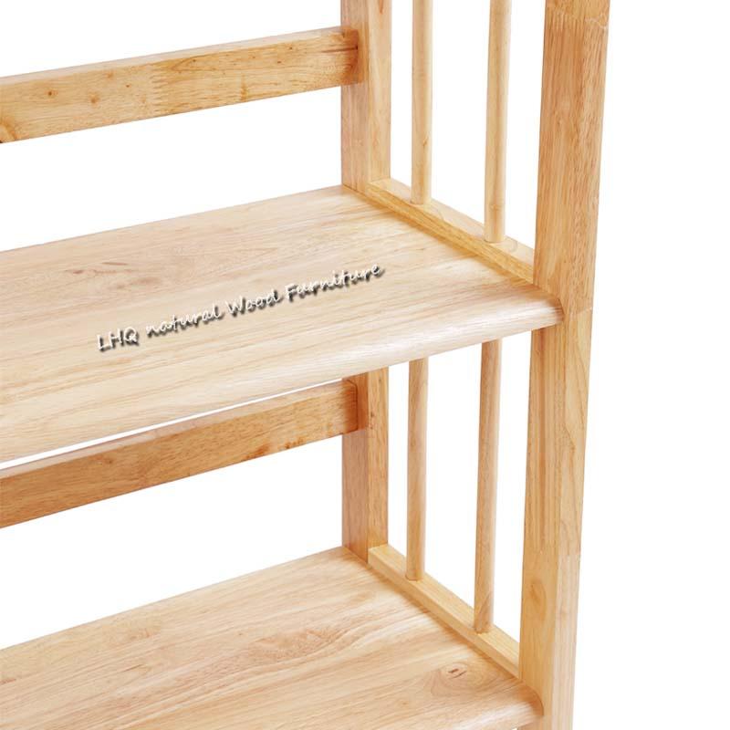 chi tiết kệ sách 3 tầng 90 cm có độ dày chắc chắn, bền đẹp