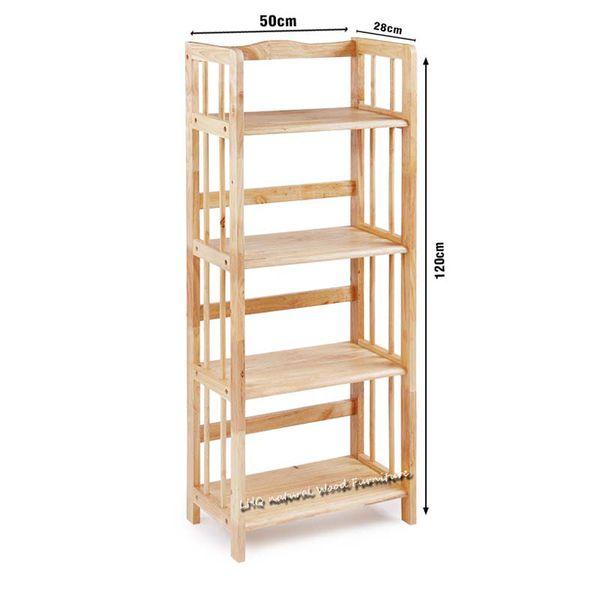 Kệ sách 3 tầng gỗ tự nhiên