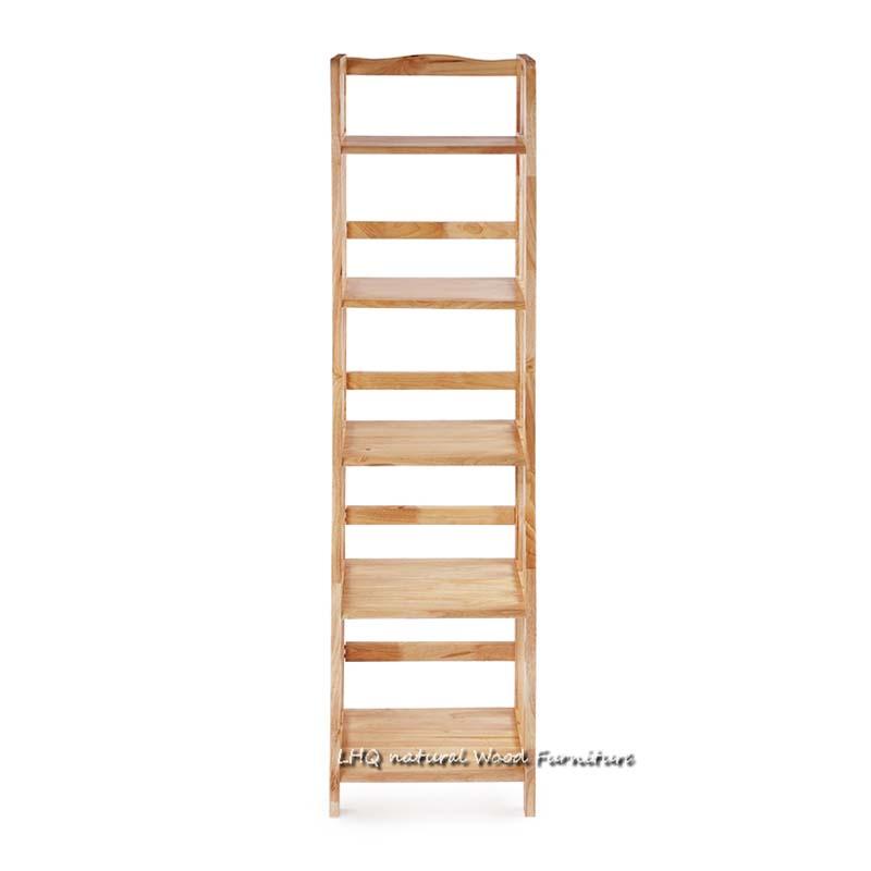 Kệ sách đứng 5 tầng rộng 40 cm gỗ tự nhiên