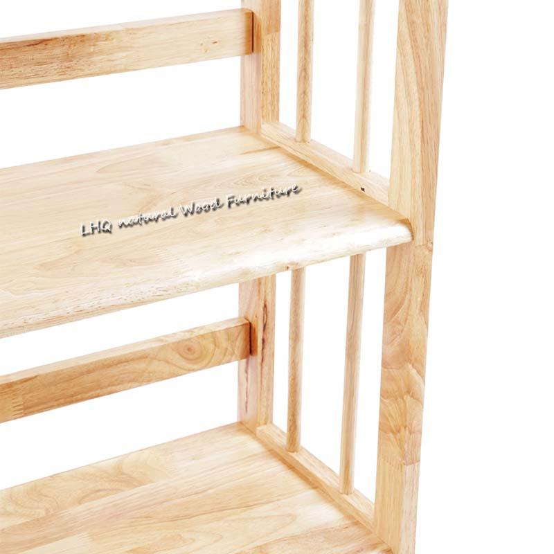 Kệ sách 5 tầng 80 cm phôi gỗ to , hàng làm kỹ lưỡng