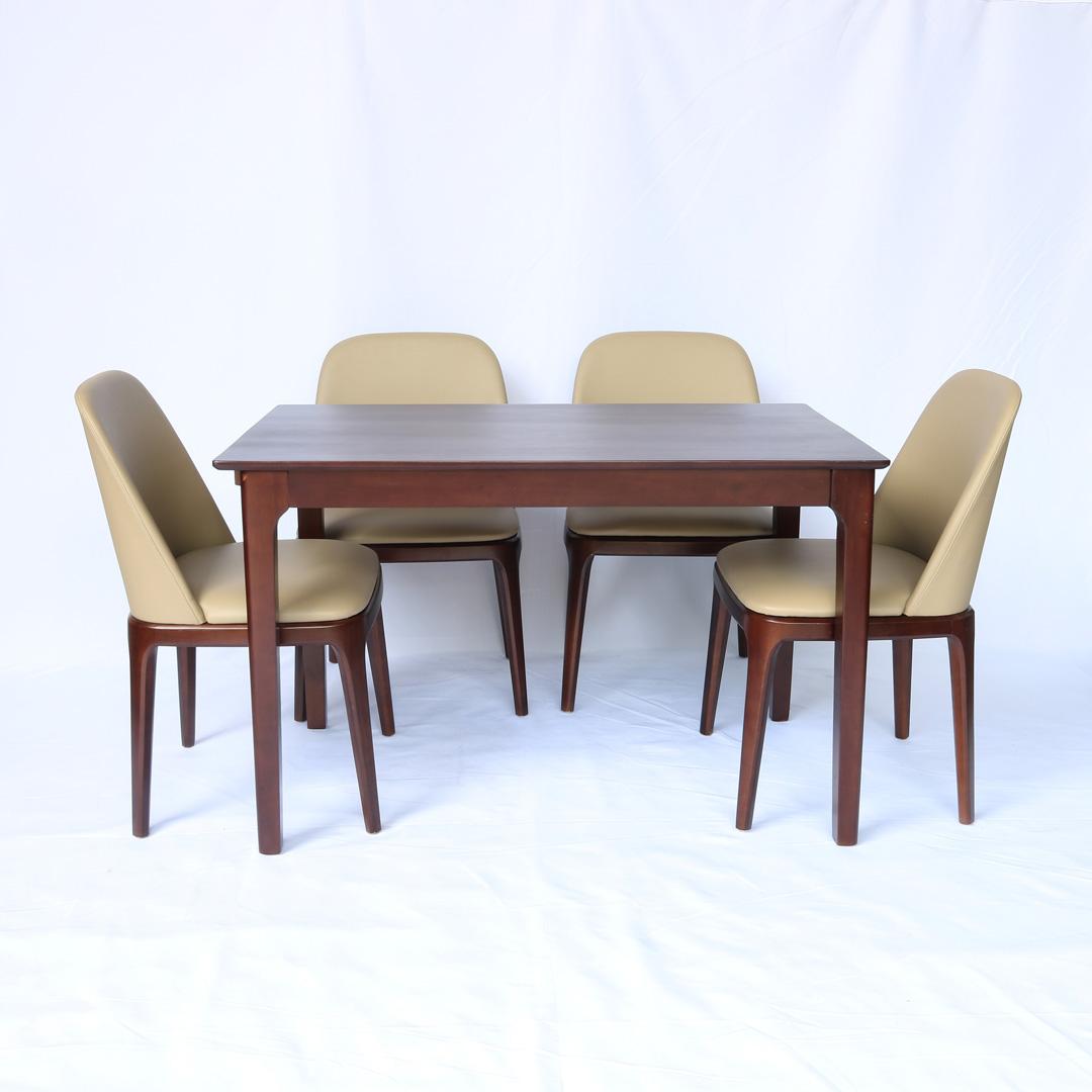 Bộ bàn ghế ăn Grace 4 chỗ ngồi