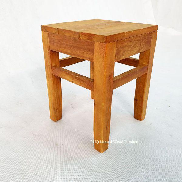 Ghế đôn gỗ tràm